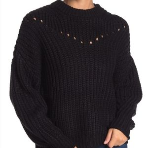 Elodie Chunky Knit Pullover Sweater NWT